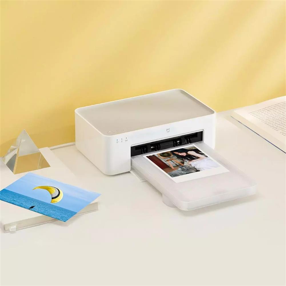 printers Original XIAOMI Photo Printers 1S Wireless High Definition Color Sublimation Portable Smart Printer APP Use Support 3/6 inch HOB1785599 3 1