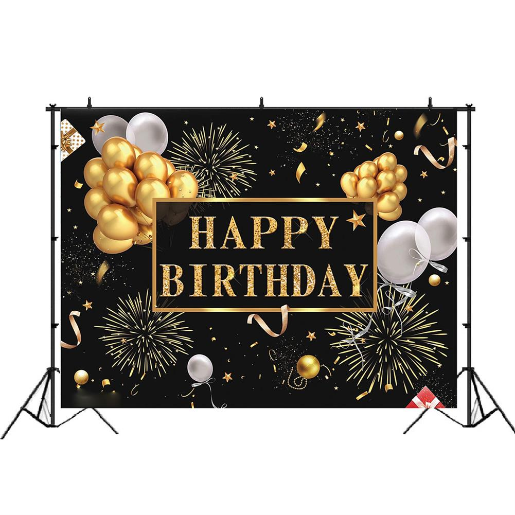 other-learning-office-supplies 3D Birthday Photography Background Cloth Black Wall Photo Studio Home office Party Decoration Multi Size Choose HOB1786070 1