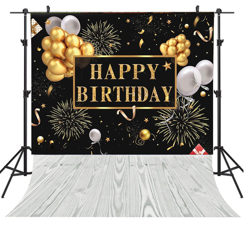 other-learning-office-supplies 3D Birthday Photography Background Cloth Black Wall Photo Studio Home office Party Decoration Multi Size Choose HOB1786070 1 1