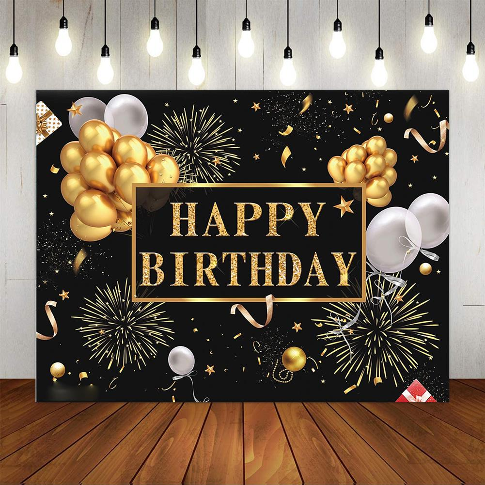 other-learning-office-supplies 3D Birthday Photography Background Cloth Black Wall Photo Studio Home office Party Decoration Multi Size Choose HOB1786070 3 1
