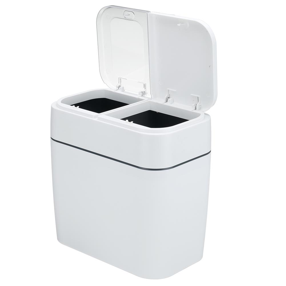 other-learning-office-supplies 12L Multi Functional Classification Trash Can Household Press Type Garbage Living Room Bathroom Kitchen Waste Dustbin HOB1786122 1