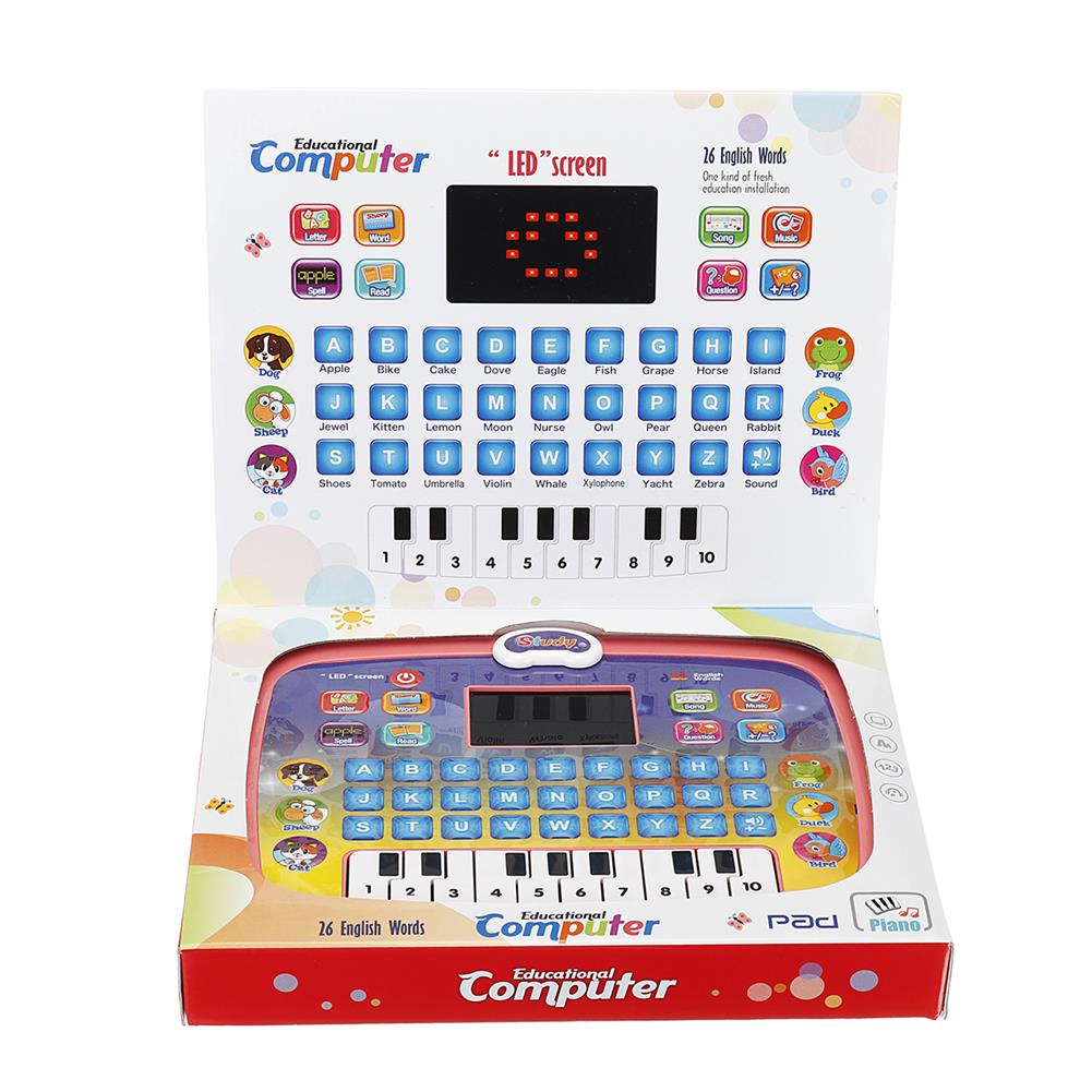 other-learning-office-supplies Early Educational Learning Laptop Children Piano Music and English Letter Learning Machine for Home Children Gift HOB1786761 1