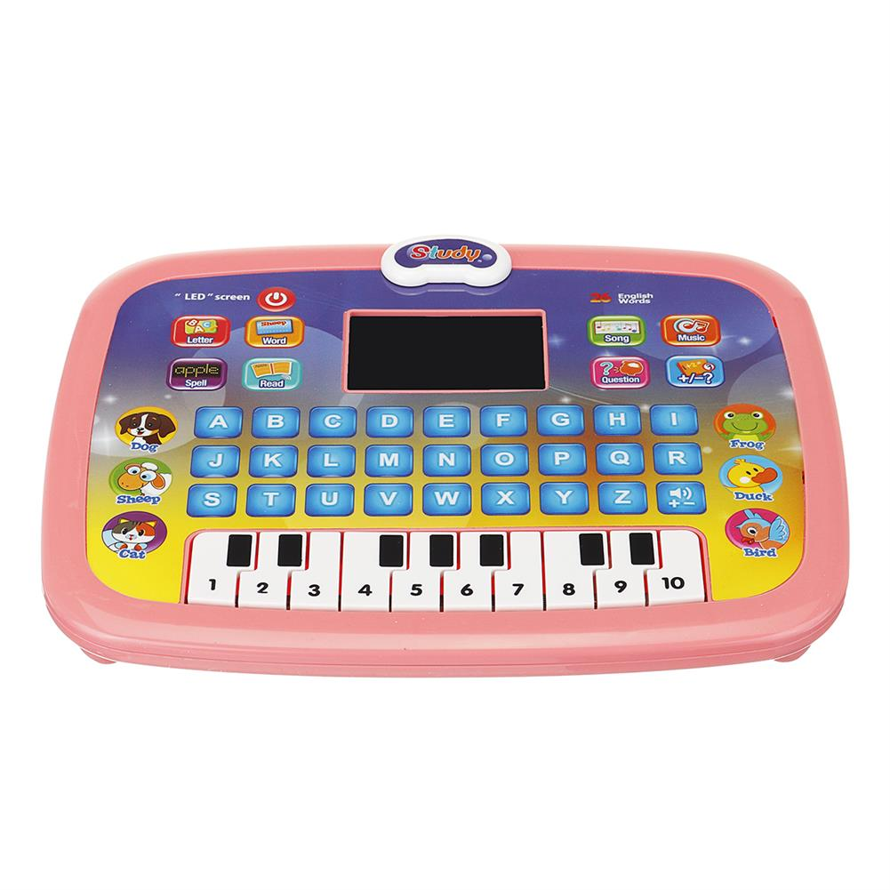 other-learning-office-supplies Early Educational Learning Laptop Children Piano Music and English Letter Learning Machine for Home Children Gift HOB1786761 2 1