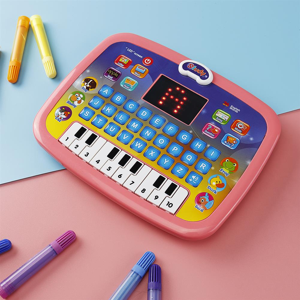 other-learning-office-supplies Early Educational Learning Laptop Children Piano Music and English Letter Learning Machine for Home Children Gift HOB1786761 3 1