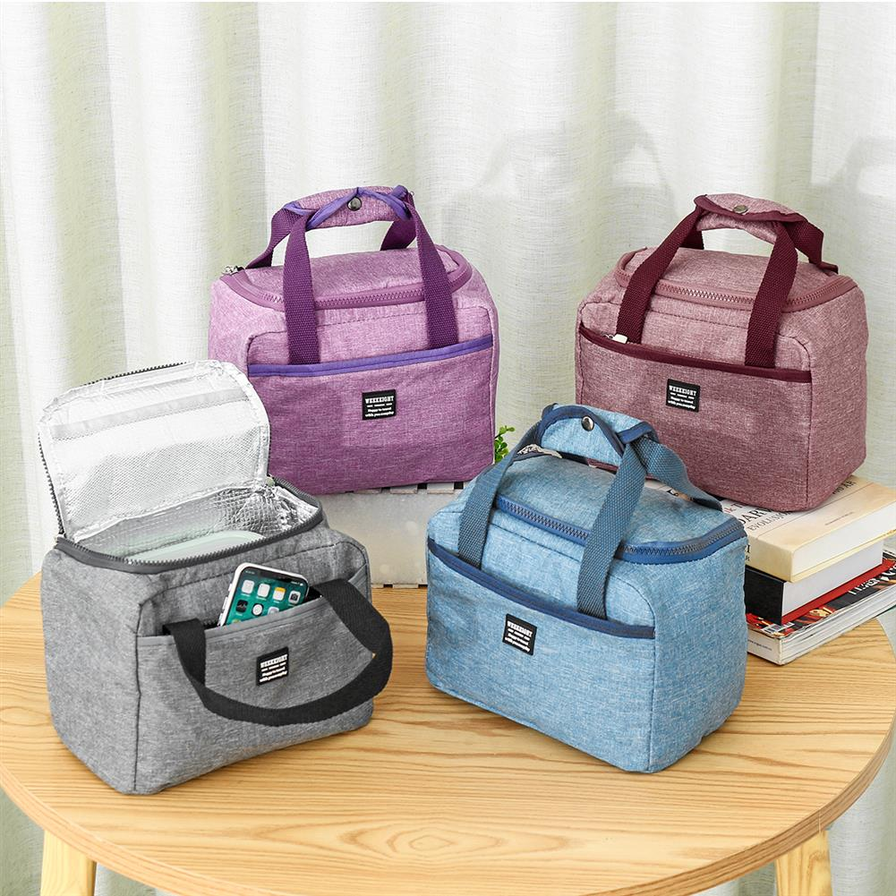 other-learning-office-supplies Lunch Bag 3 Layers Oxford Cloth Long Time Keeping Warm Cold Waterproof Oil Resistant Bag for Lunch Food Fruit Storage HOB1786822 2 1