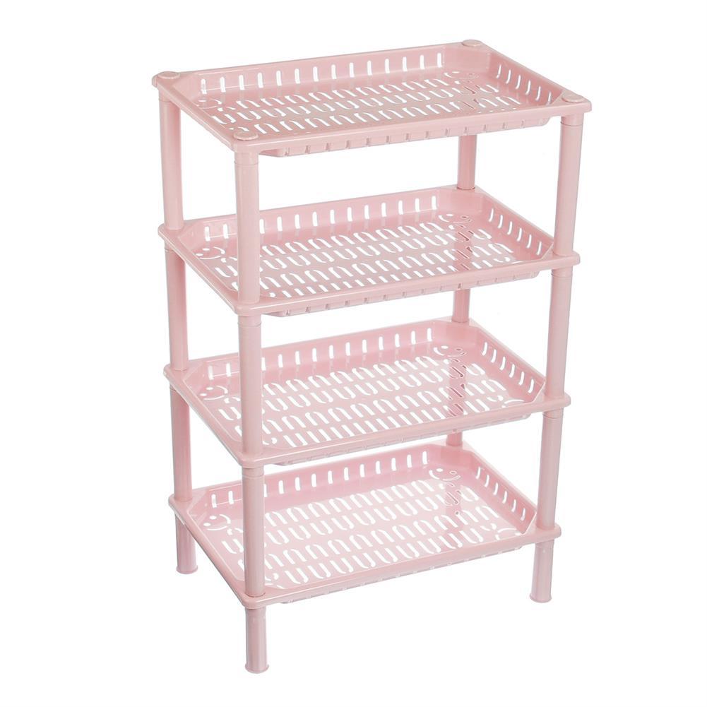 desktop-off-surface-shelves 4 Tiers StorageRack Sundries BbasketShelf Kitchen Bathroom Organizer Holder Book File Tray HOB1787677 1