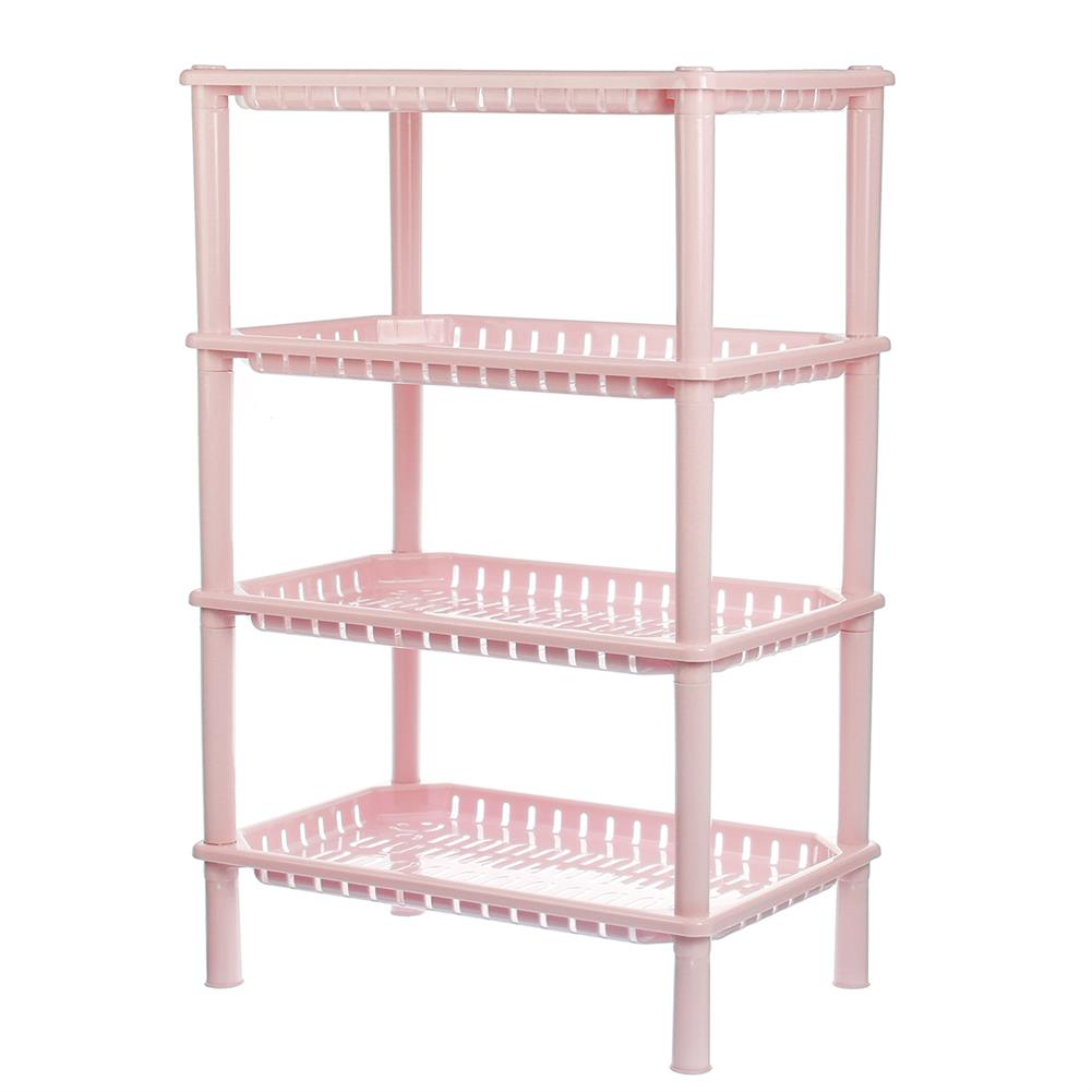 desktop-off-surface-shelves 4 Tiers StorageRack Sundries BbasketShelf Kitchen Bathroom Organizer Holder Book File Tray HOB1787677 1 1
