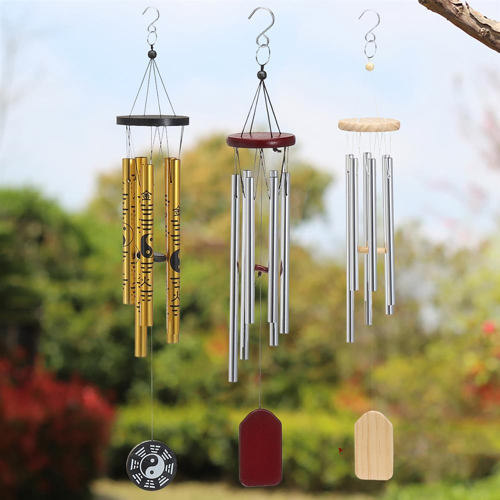 other-learning-office-supplies Metal Tubes Wind Chimes the 8 Diagrams Fengshui theme Wind Chimes for Home office Decoration Family Gifts HOB1787999 2 1