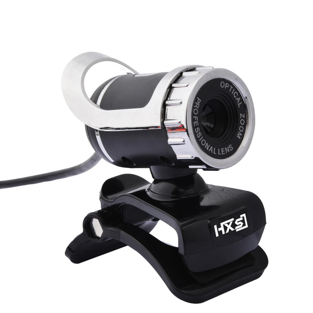 webcams HXSJ S9 FULL HD 1080 Computer Camera 30FPS Built-in Microphone Plug and Play 360 Rotation 5 Layer Glass Lens Webcam HOB1788330 1 1