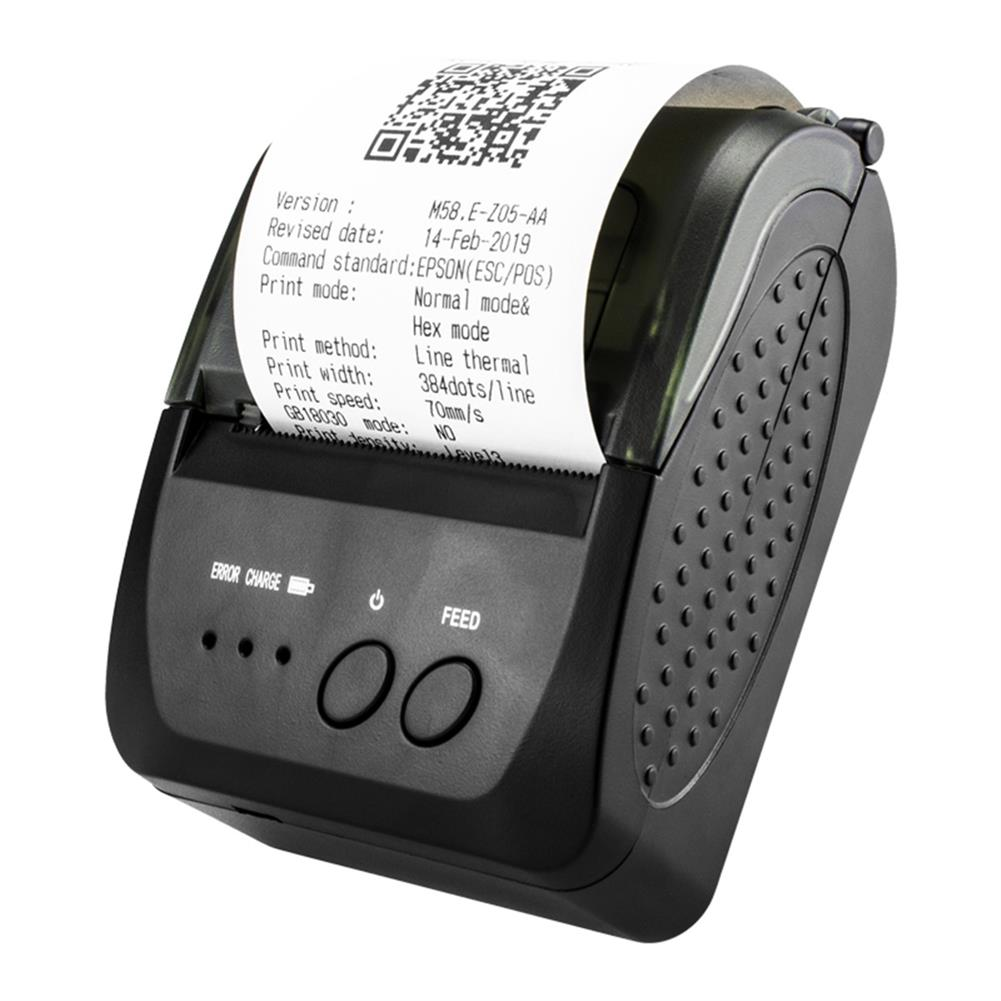 printers Portable USB bluetooth thermal Printer Wireless Receipt Printing Machine Receipt Printer for All Commercial POS Systems HOB1788577 1