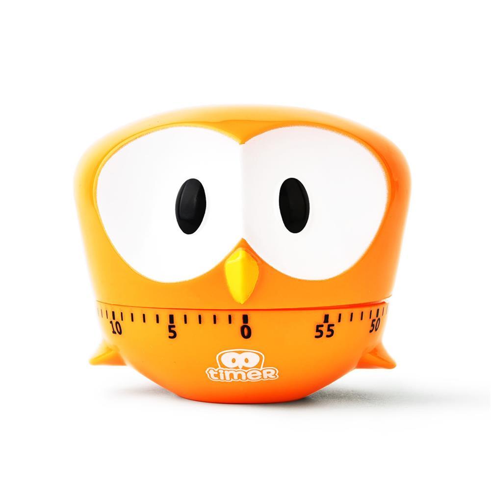 desktop-off-surface-shelves Mini Owl Shape Timer Cartoon Animal Easy Operated Kitchen Cooking Baking Exam Countdown Mechanical Timer Reminder HOB1788852 3 1