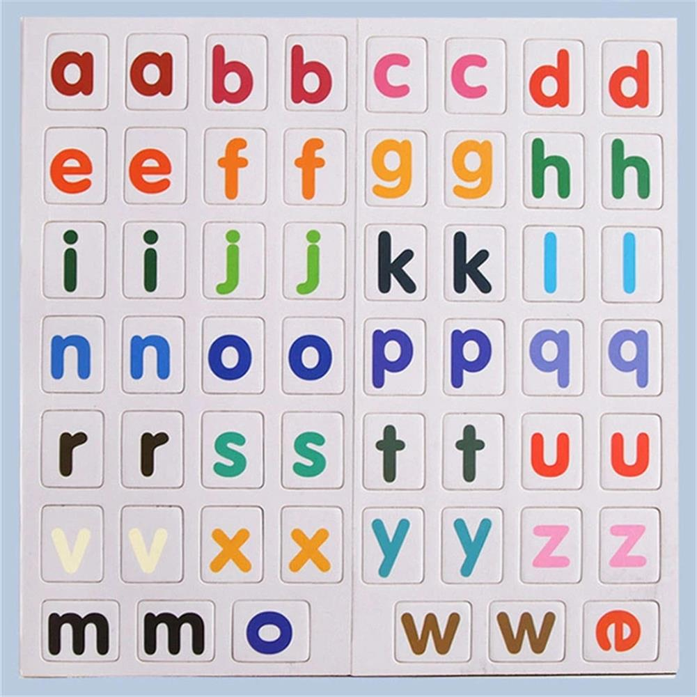 other-learning-office-supplies 3D Magnetic Book sight word games English Alphabet Letters Game Early Education Literacy Puzzle Toys for Baby Kids Gifts HOB1788854 3 1