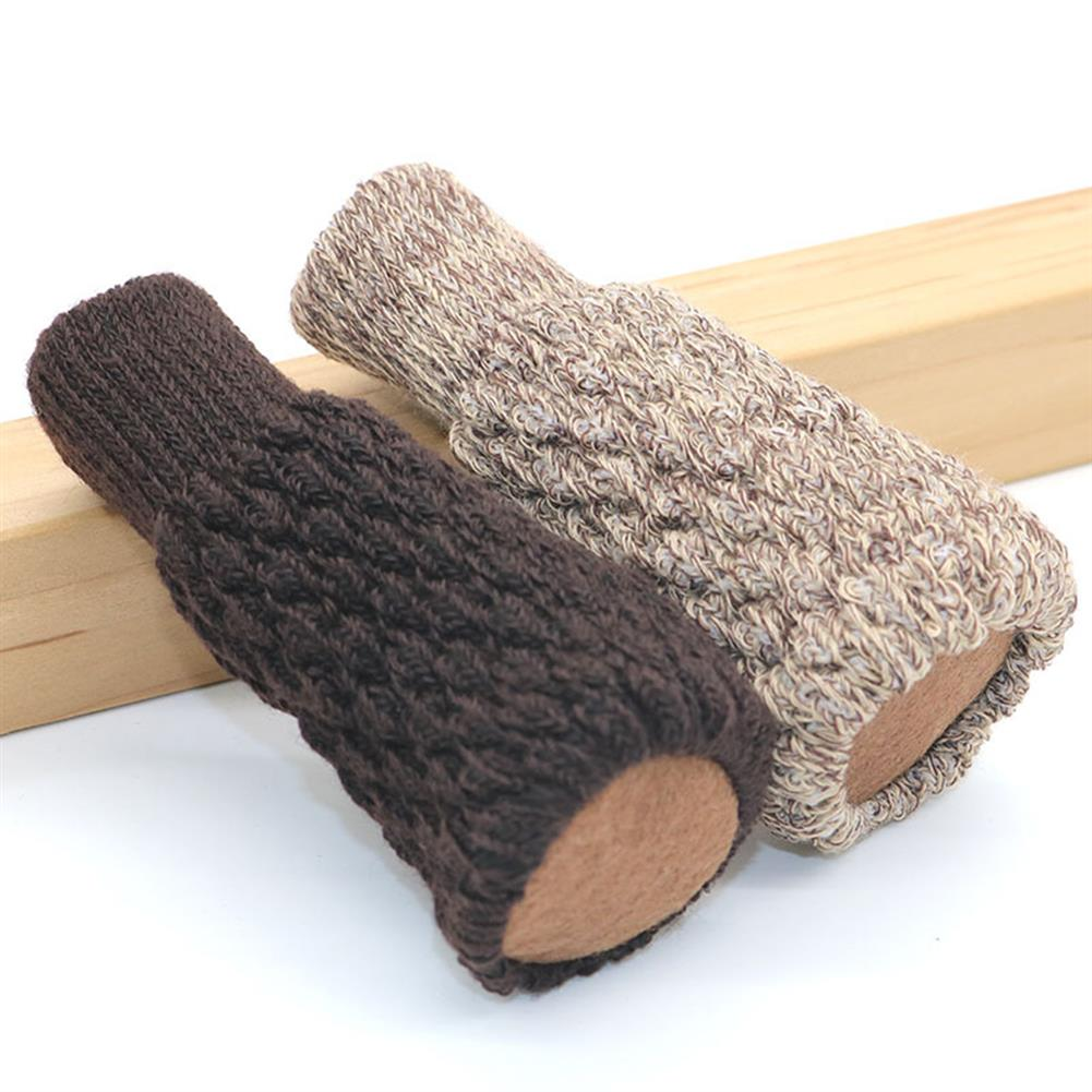 other-learning-office-supplies 24Pcs Chair Leg Socks Acrylic Fibers Chair Leg Cover Furniture Desk Leg Knitting Sock Sets Floor Protector for Home Decoration HOB1789220 1 1