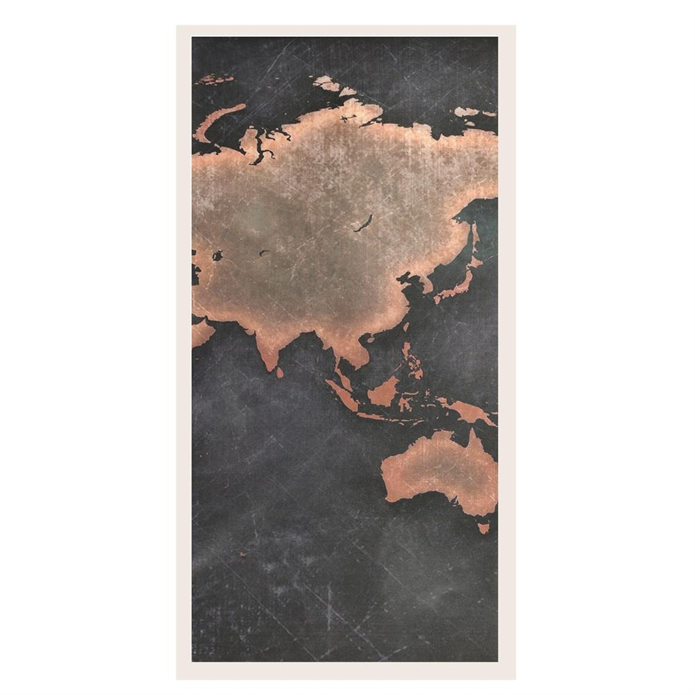 other-learning-office-supplies 5Pcs Modern Canvas Painting Set Frameless World Map theme Home Wall Tapestry Art Painting for Home Decoration HOB1789273 2 1