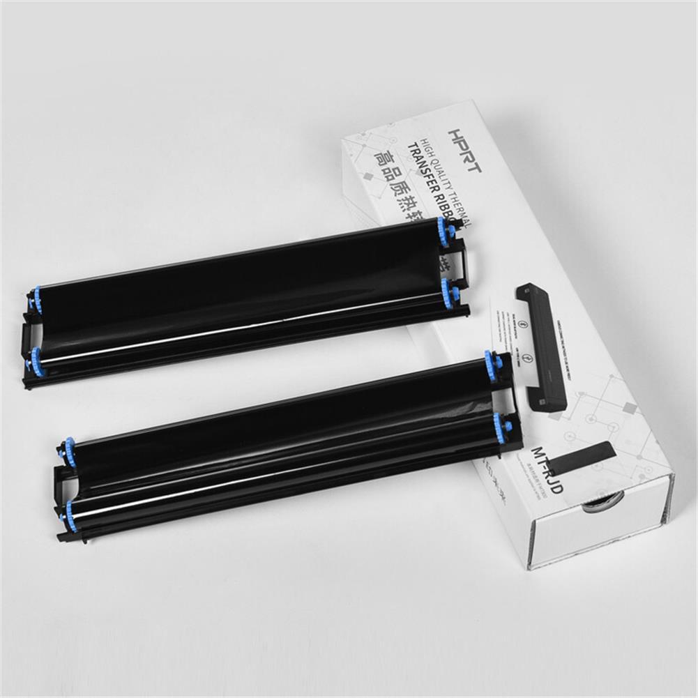 printer-ribbon HPRT 2pcs/box A4 Printer Ribbon Portable Mini Printer for Student Work Exam Paper office Bluetooth Wireless MT800 Printer HOB1789699 2 1