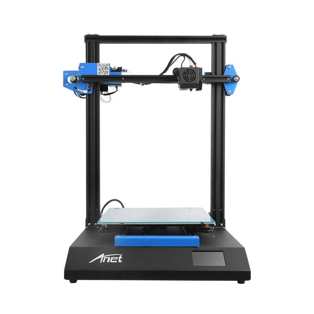 3d-printer Anet ET5X 3D Printer Kit 300x300x400mm Print Volume Support Auto Leveling/Resume Printing with 3.5 inch LCD Color Touch Screen/Upgraded Over-Current Protection Mainboard HOB1789771 1 1