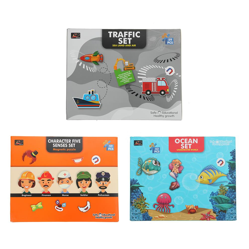 other-learning-office-supplies Magnetic Puzzle Box Early Childhood Education Magnetic Puzzle Toy 3d Dress Up Magnetic Book Children Creativity intellgence Developing Toys HOB1789796 1