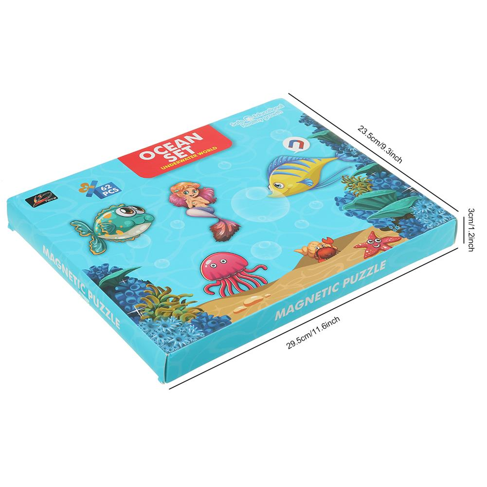 other-learning-office-supplies Magnetic Puzzle Box Early Childhood Education Magnetic Puzzle Toy 3d Dress Up Magnetic Book Children Creativity intellgence Developing Toys HOB1789796 2 1