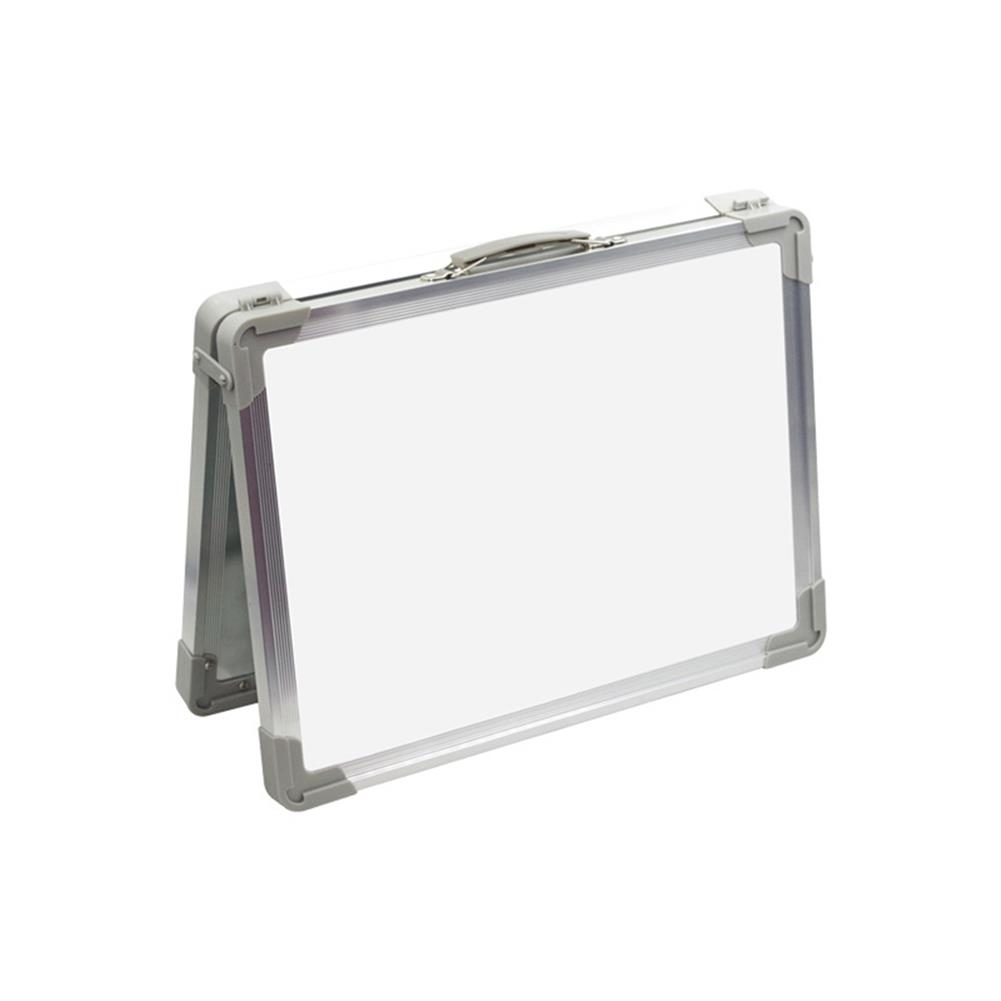 white-wipe-board Mini Magnetic Painting Whiteboard Double-sided Hand Foldable Kids Drawing Artboard Household Message Board Creative Gifts HOB1790432 1