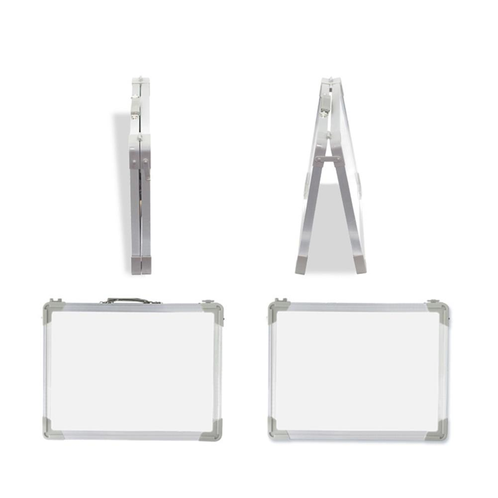 white-wipe-board Mini Magnetic Painting Whiteboard Double-sided Hand Foldable Kids Drawing Artboard Household Message Board Creative Gifts HOB1790432 1 1