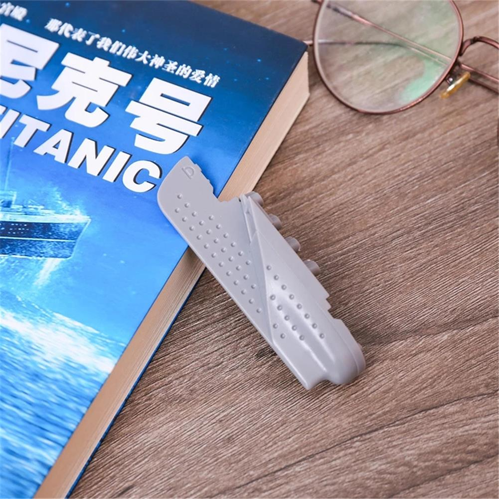 stamp-bookmark 1pc 3D Titanic Steamship Bookmark ABS Funny Book Markers for Reading Stationery Gift office School Students Supplies HOB1790930 2 1