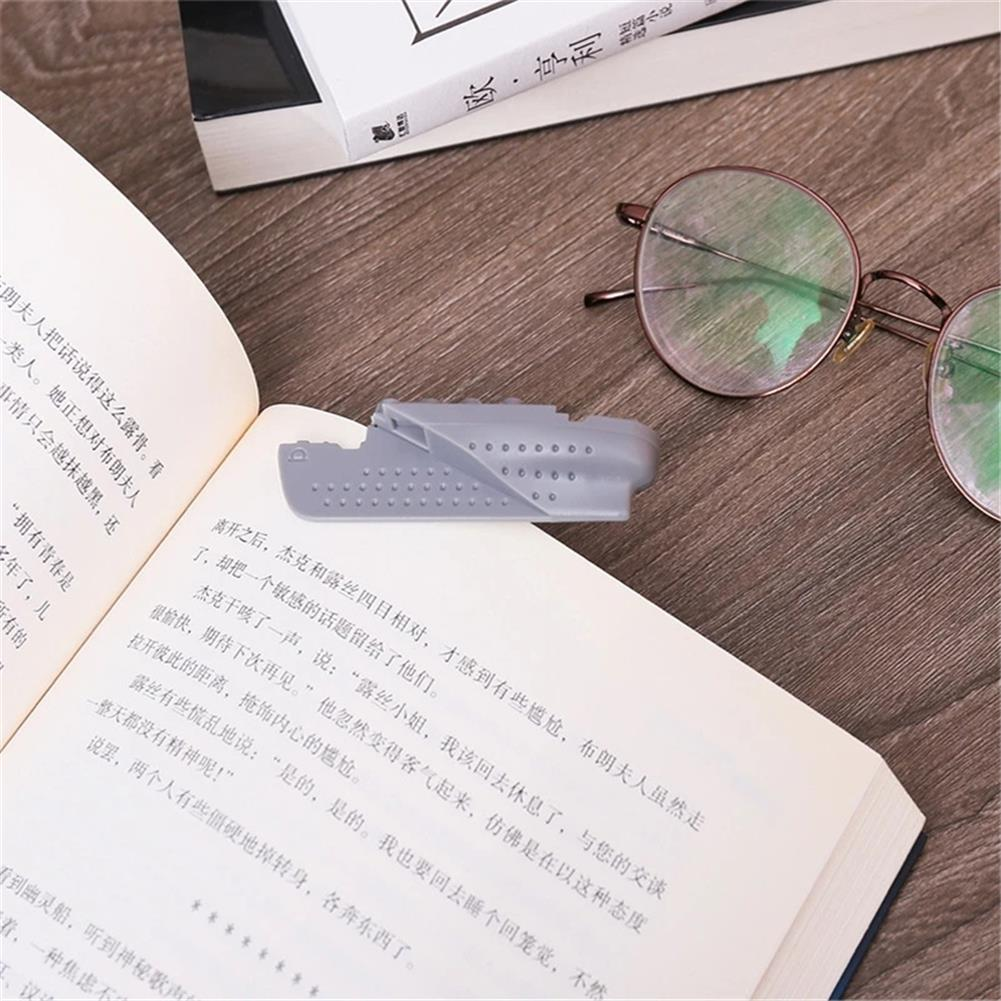 stamp-bookmark 1pc 3D Titanic Steamship Bookmark ABS Funny Book Markers for Reading Stationery Gift office School Students Supplies HOB1790930 3 1