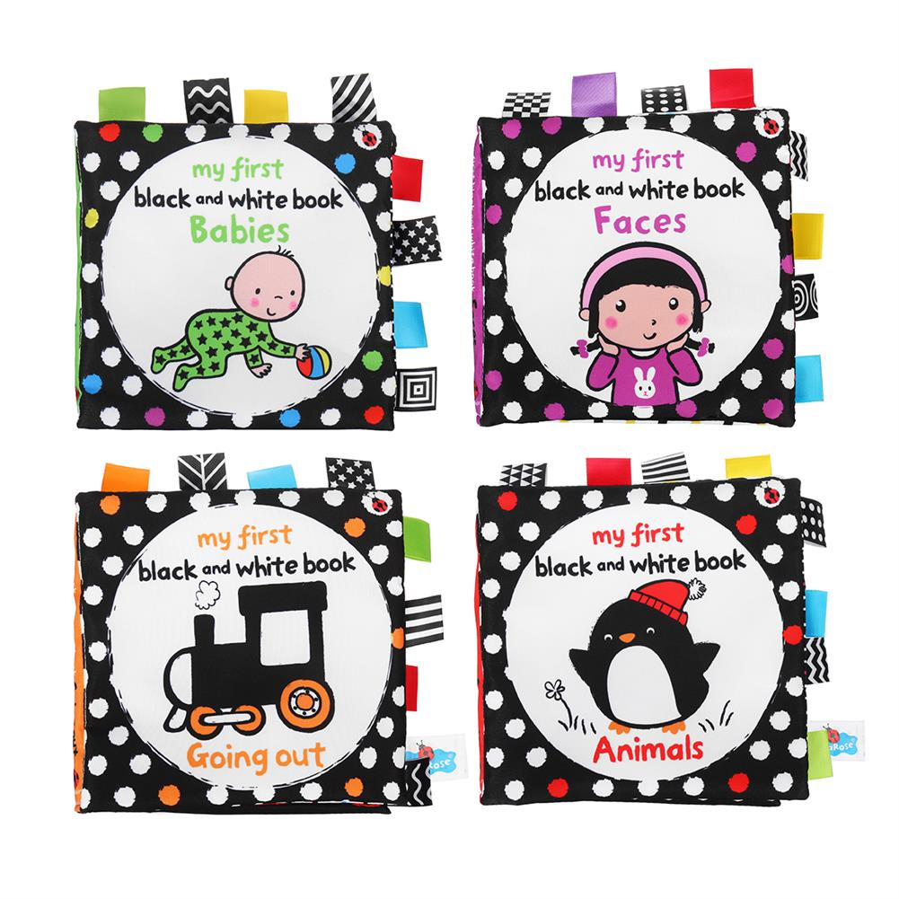 other-learning-office-supplies infant Early Education Cloth Book Parent-child interaction Biteable Sound Paper Cloth Book Montessori Toy for Baby HOB1791255 3 1