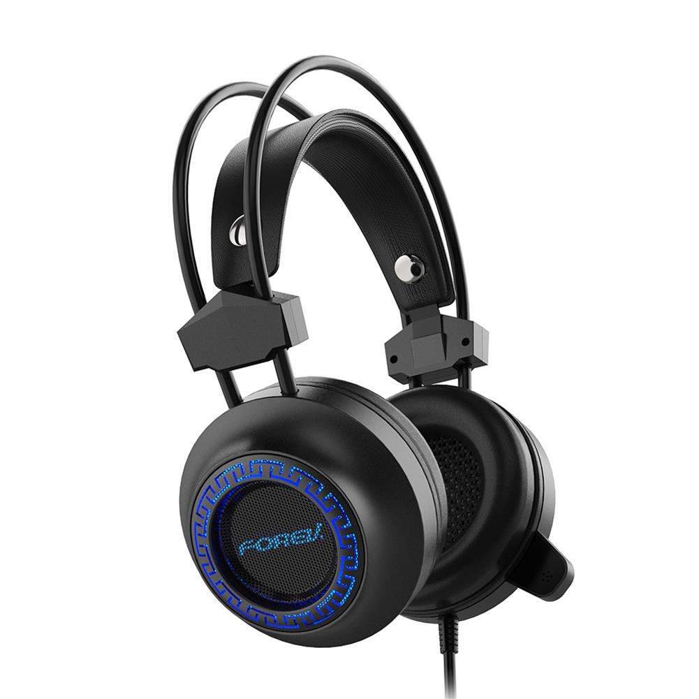 headphones FOREV FV-G93 Gaming Headset 7.1 Channel 50mm Driver Stocking Stereo Sound RGB Cool Light Noise Reduction Microphone for ps4 Xbox HOB1791259 1 1