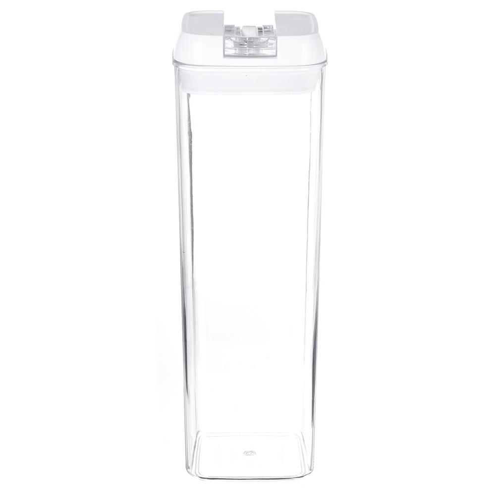 other-learning-office-supplies Air-Tight Food Storage Container for Cereals Easy Lock Sealed Jar Plastic Transparent Milk Powder Grains Candy Kitchen Organizer HOB1791271 1 1