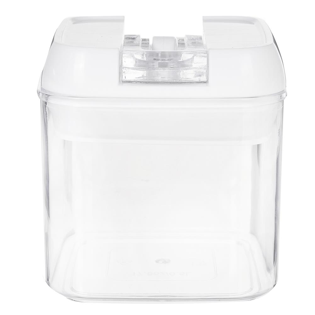 other-learning-office-supplies Air-Tight Food Storage Container for Cereals Easy Lock Sealed Jar Plastic Transparent Milk Powder Grains Candy Kitchen Organizer HOB1791271 3 1