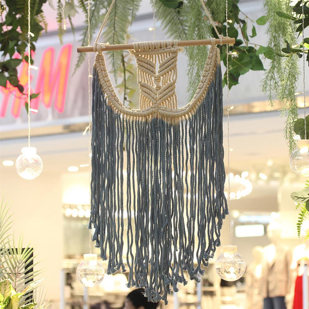 other-learning-office-supplies Macrame Wall Hanging Tapestry Hand Woven Pendant Decoration House Ceremony Living Room Home Furnishing Accessories HOB1791277 2 1