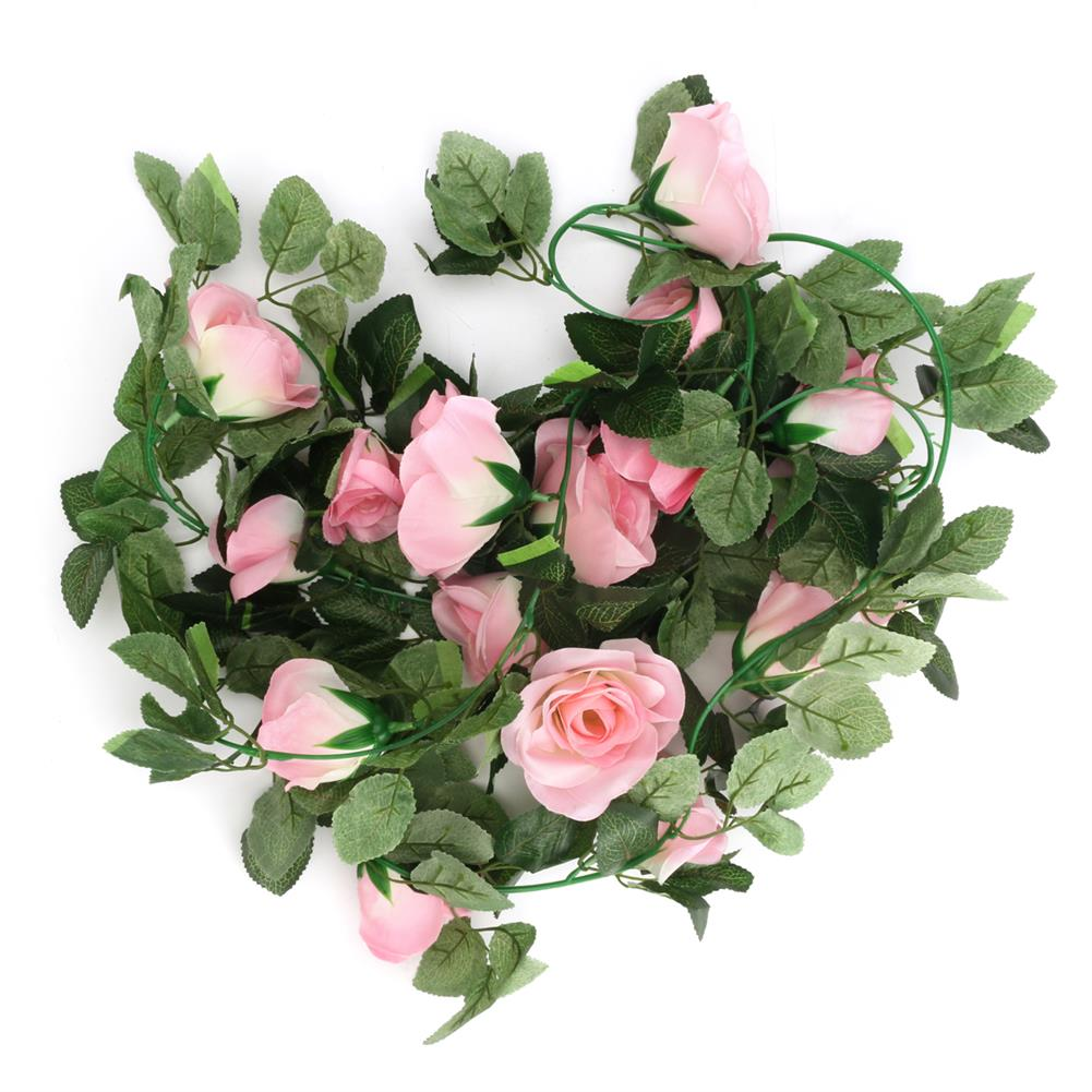 other-learning-office-supplies Artificial Flower Garland Ivy Vine Silk Flowers Hanging Garland Plant for Birthday Wedding Party Home Decoration HOB1791390 1 1