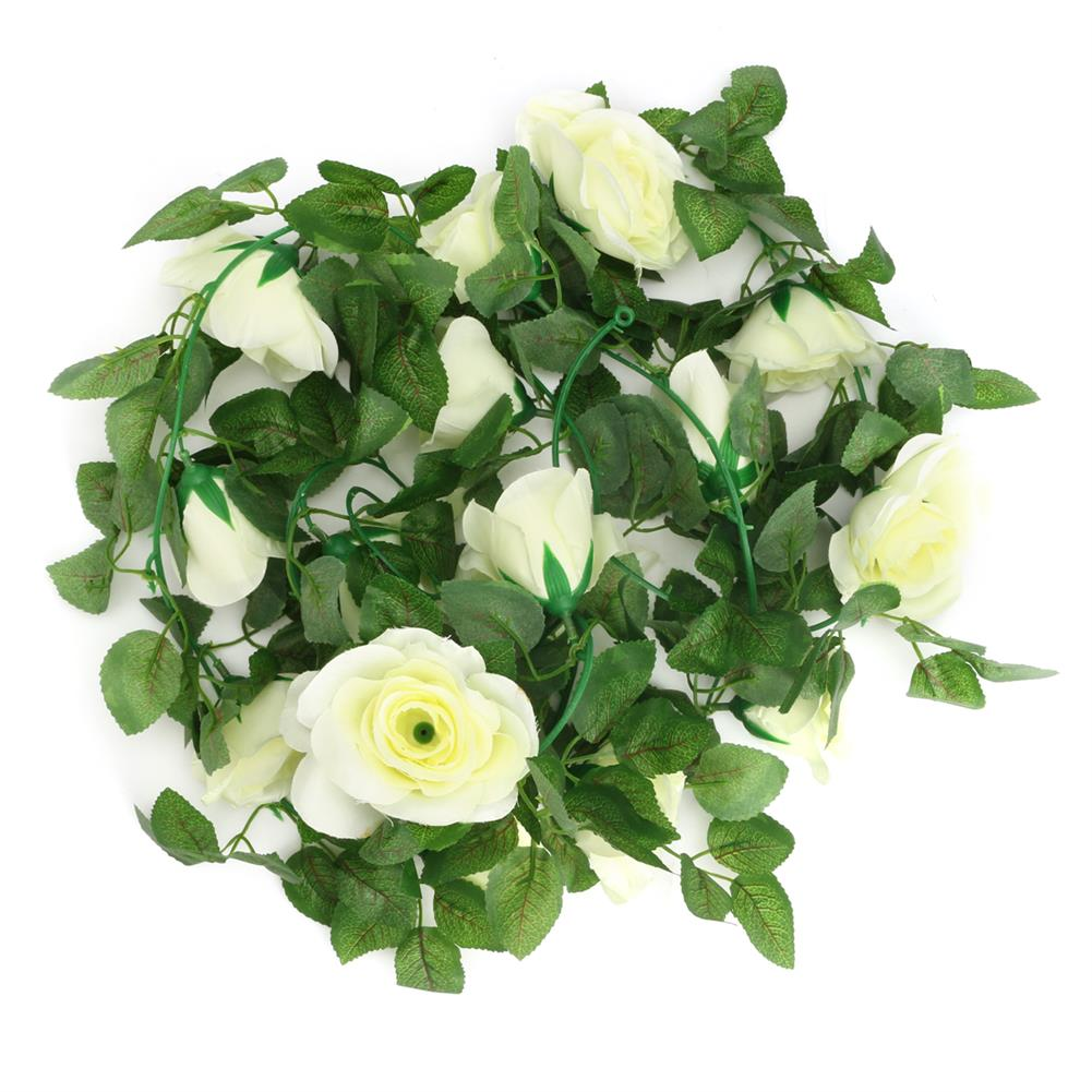 other-learning-office-supplies Artificial Flower Garland Ivy Vine Silk Flowers Hanging Garland Plant for Birthday Wedding Party Home Decoration HOB1791390 2 1
