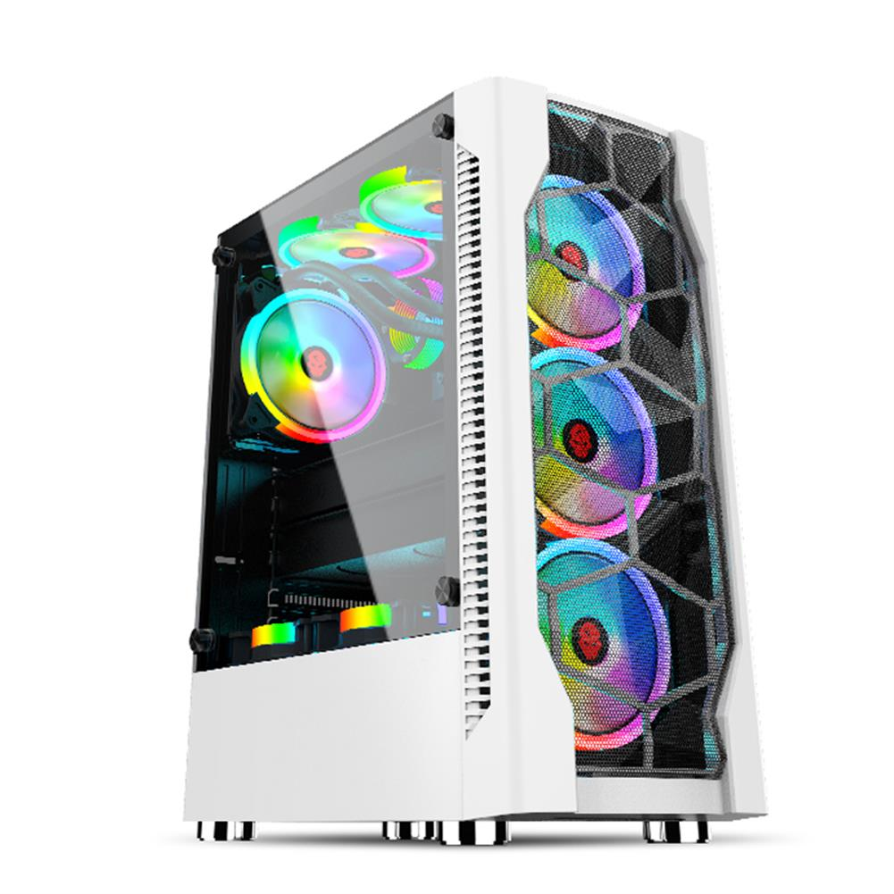 computer-cases-towers GAMEKM ATX Computer Gaming Case Water Cooling Desktop Support ATX/M-ATX/ ITX Motherboard for PC HOB1791460 1 1