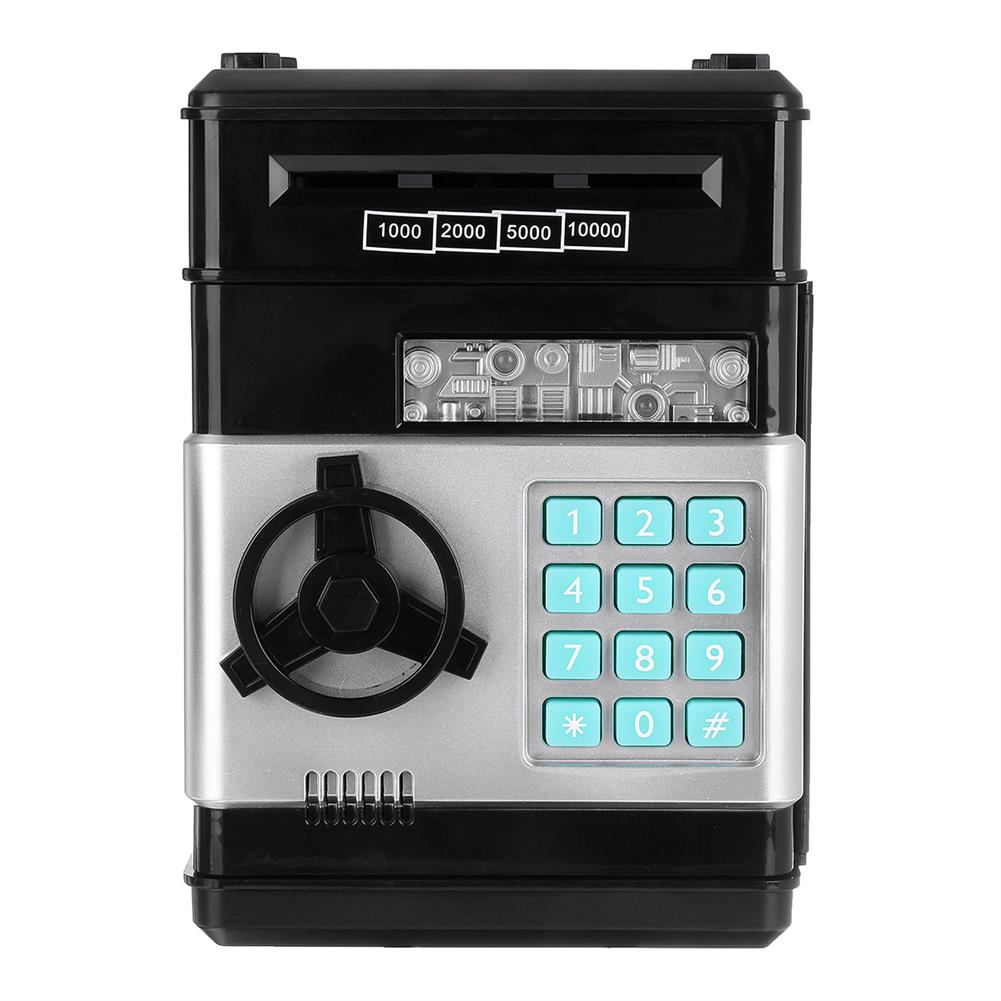 other-learning-office-supplies ATM Deposit Machine Toy Electric Bank with Music Automatic Roll Up Code Safe Mini Deposit Box Safe for Children Gift HOB1791712 1