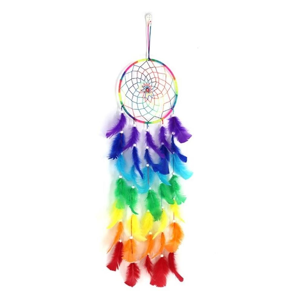 other-learning-office-supplies 7 Color Dream Catcher Colorful Dreamcatchers Handmade Nordic Bohemian Style Dream Catcher Wedding Home Decoration HOB1791741 1