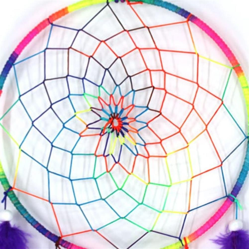 other-learning-office-supplies 7 Color Dream Catcher Colorful Dreamcatchers Handmade Nordic Bohemian Style Dream Catcher Wedding Home Decoration HOB1791741 3 1