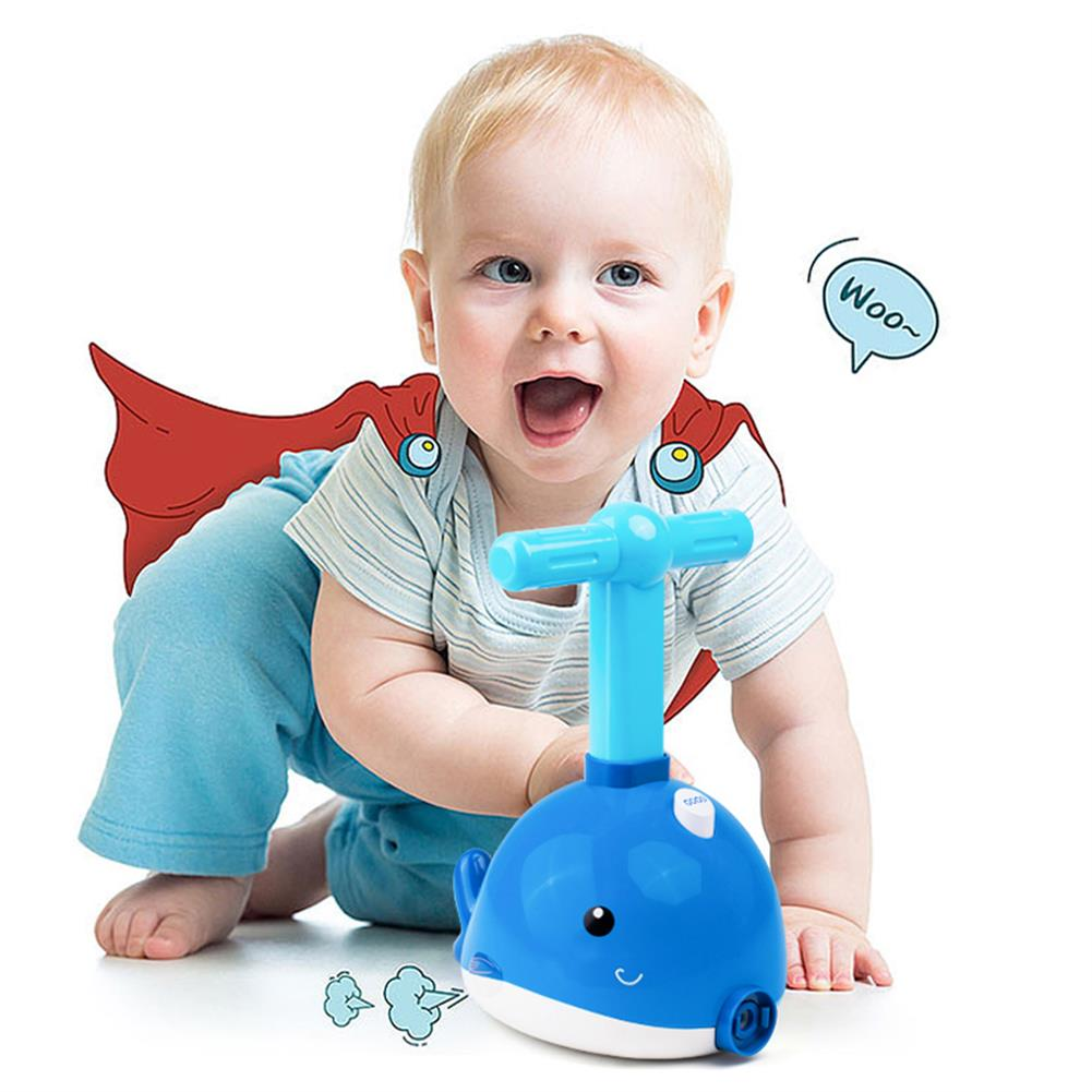 other-learning-office-supplies Balloon Powered Car Toys Dolphin Shape Hand Bumping Balloon Aero Dynamic Toy Cars Set Children Physics Learning Toy for Gifts HOB1791907 2 1