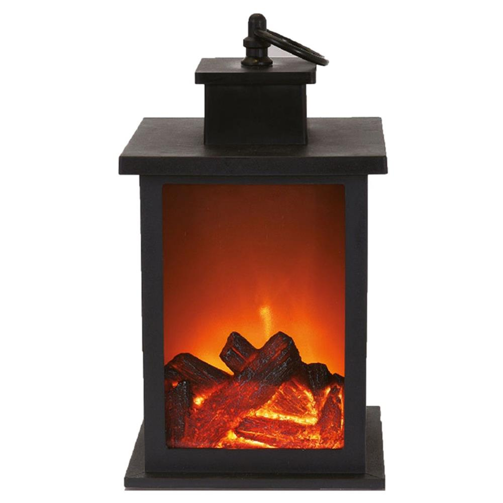 other-learning-office-supplies LED Fireplace Lantern Electric Log Flamless Fire Effect Vintage Lamp Christmas Home Garden Party Decoration HOB1792028 1