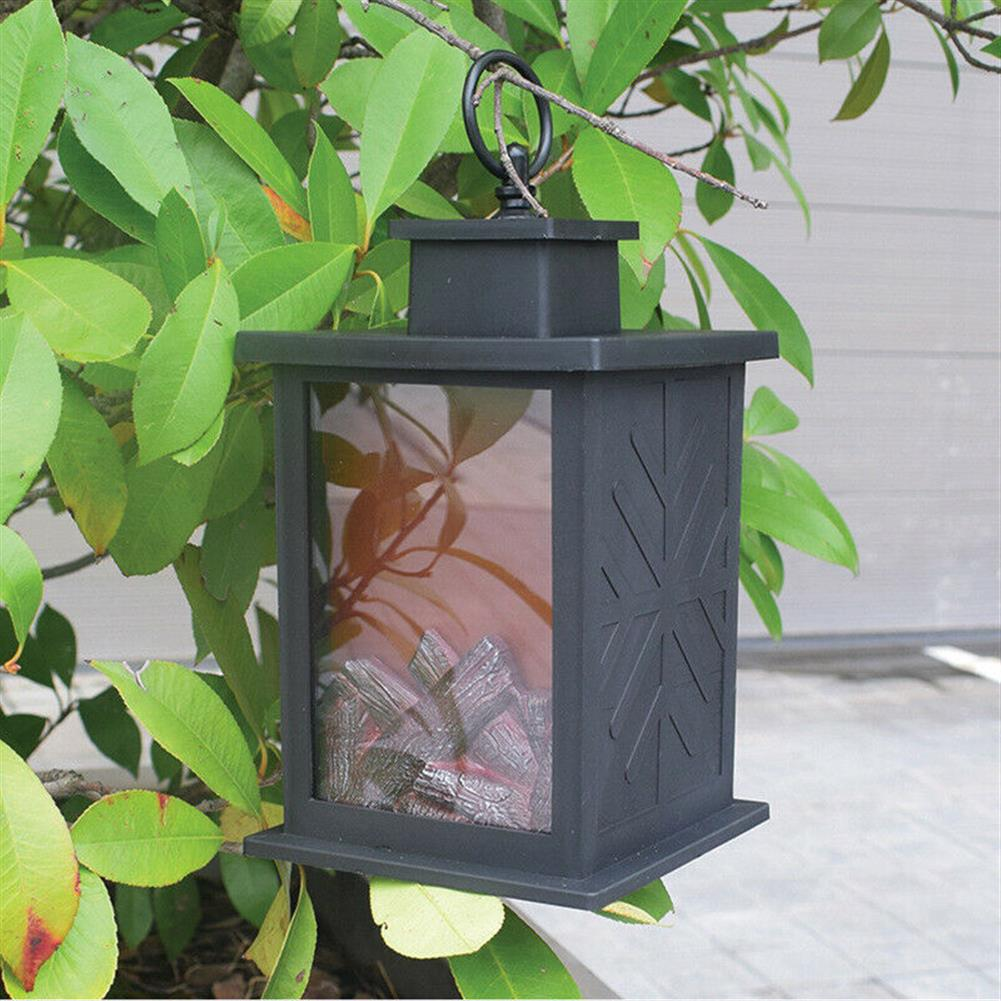 other-learning-office-supplies LED Fireplace Lantern Electric Log Flamless Fire Effect Vintage Lamp Christmas Home Garden Party Decoration HOB1792028 3 1