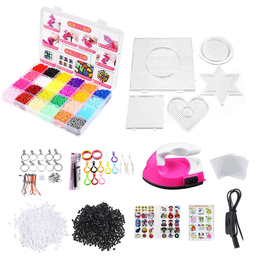 art-kit Children DIY Fuse Beads Set Non-Toxic Beads with Iron Educational kids Art Craft Puzzle Toys for Children Gift HOB1792717 1