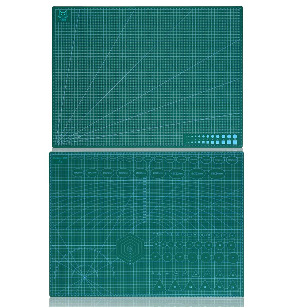 paper-cutter A2 Double Side Cutting Mat PVC Craft Scrapbooking Board Patchwork Fabric Paper Craft Cutting Tools for Engineer HOB1793301 1