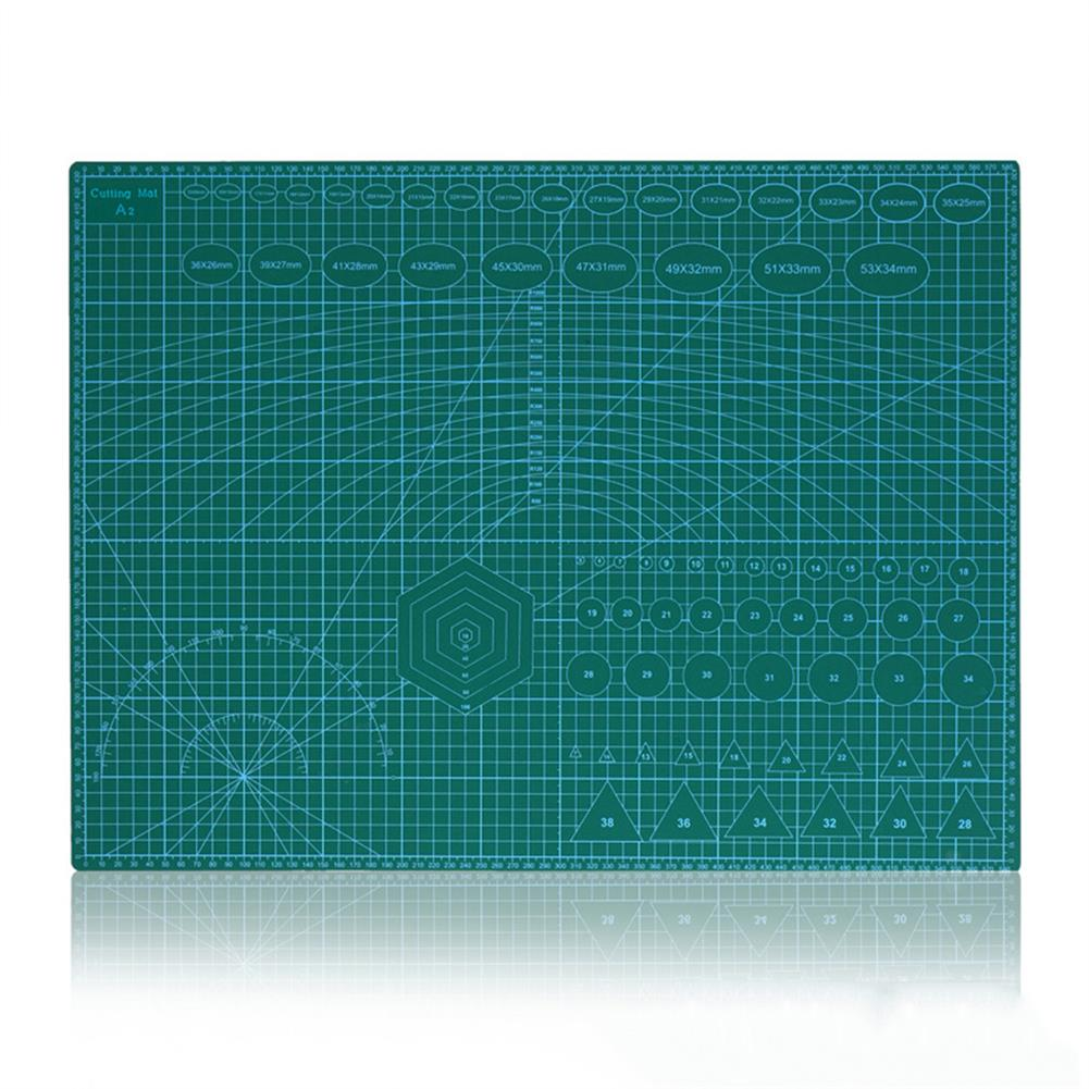 paper-cutter A2 Double Side Cutting Mat PVC Craft Scrapbooking Board Patchwork Fabric Paper Craft Cutting Tools for Engineer HOB1793301 1 1