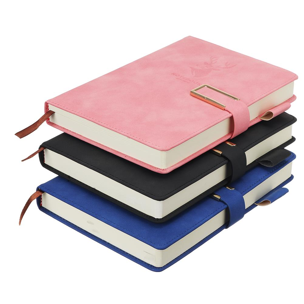 paper-notebooks A5 Journal Notebook Faux Leather Magnetic Buckle Book with Lined 416 Pages Diary Notebook for School office HOB1793407 1 1
