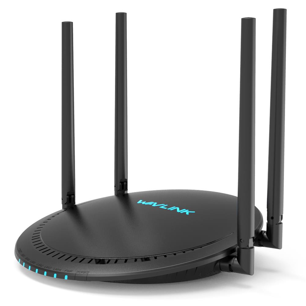 routers Wavlink AC1200 Dual Band Smart Wi-Fi Router with Touchlink USB Port Gigabit WAN LAN Ports APP Control Wireless WiFi Router HOB1793443 1