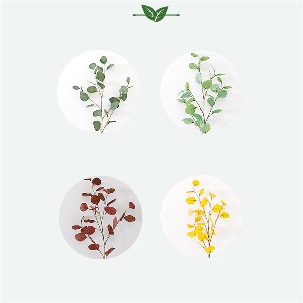 other-learning-office-supplies Handmade Plant Leaves Artificial Bouquet Eucalyptus Leaf imitation Plant DIY for Wedding Party Home Decoration HOB1793670 1 1
