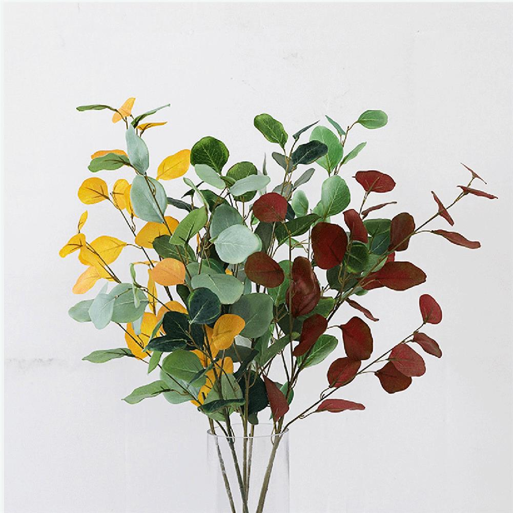 other-learning-office-supplies Handmade Plant Leaves Artificial Bouquet Eucalyptus Leaf imitation Plant DIY for Wedding Party Home Decoration HOB1793670 2 1