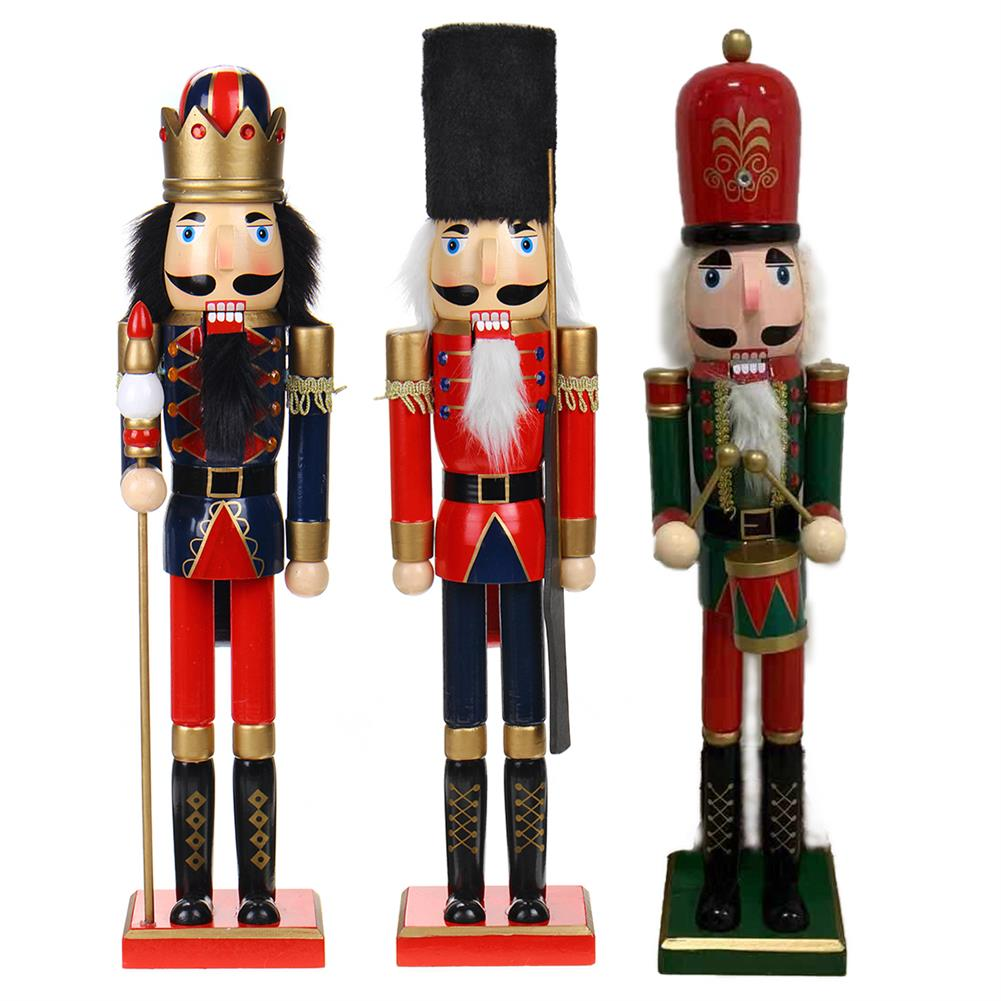 other-learning-office-supplies Nutcracker Soldier 60cm Wooden Nutcracker Doll Soldier Vintage Handcraft for Christmas Decoration Christmas Gifts HOB1793672 1