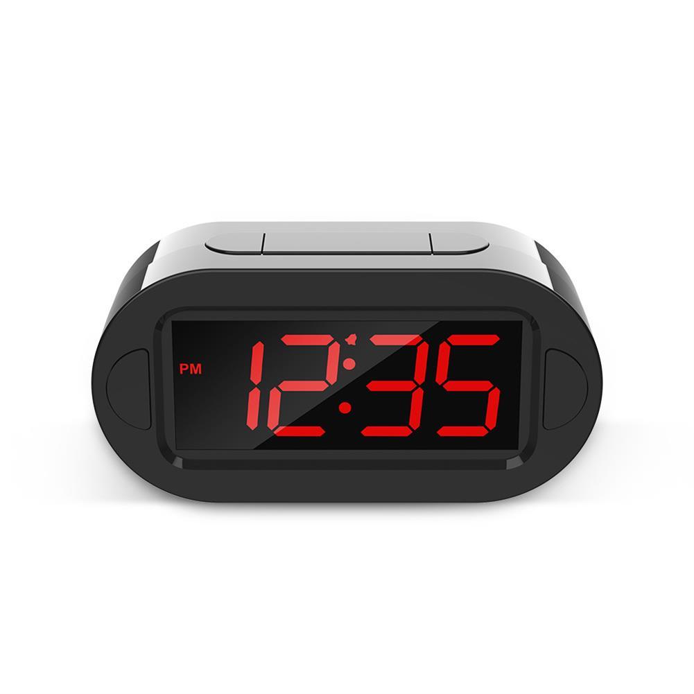 desktop-off-surface-shelves LED Electronic Alarm Clock Large Screen Digital Display Table Desktop Electronic Snooze Clocks USB Charging for Home office Use HOB1793814 1 1