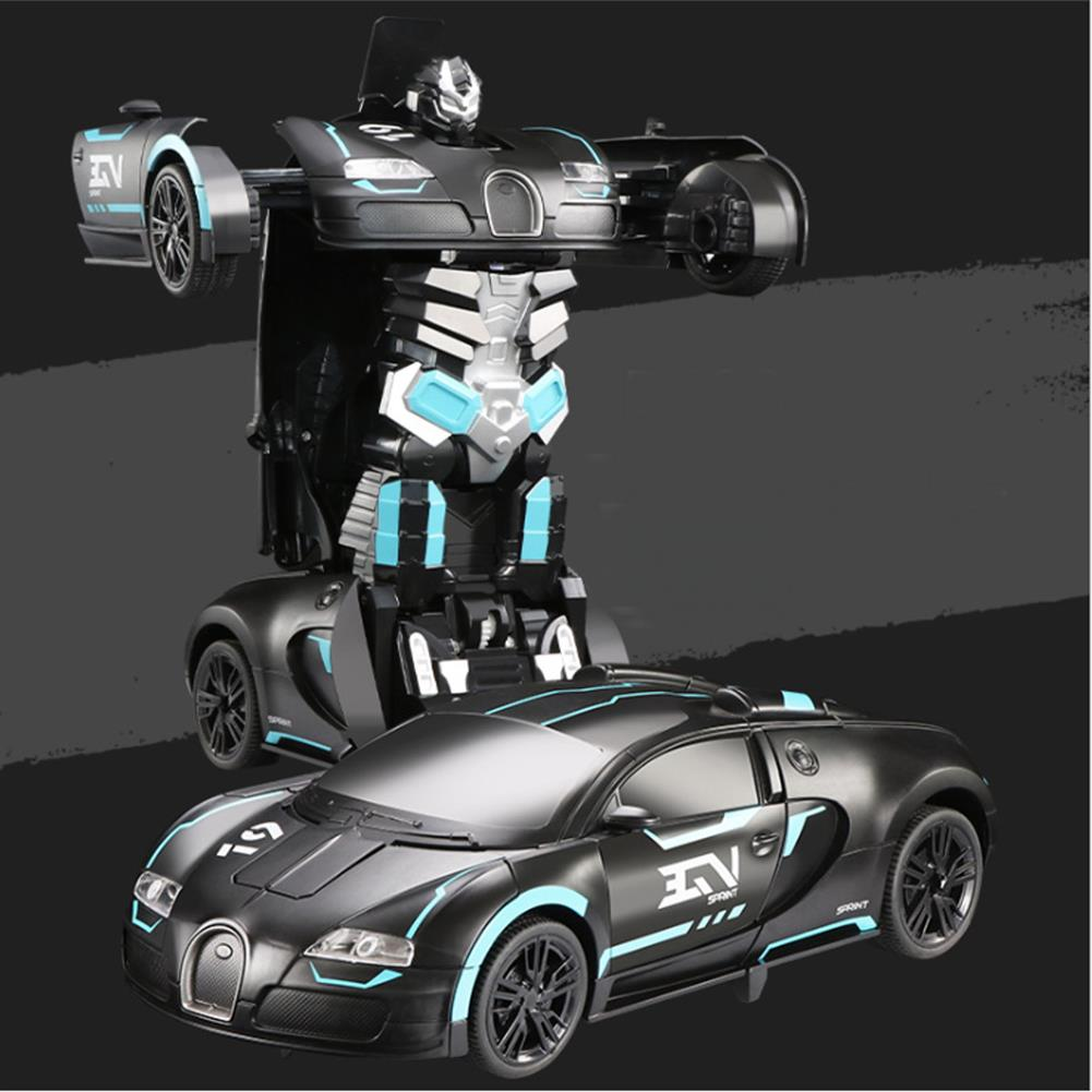 other-learning-office-supplies RC Transform Robot Car Remote & Gesture Control Deformation Car LED Light Music Robots Vehicle Model for Children Gift HOB1794170 2 1